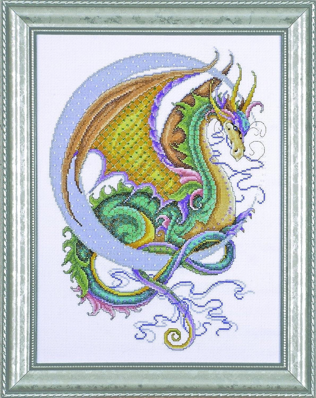 Dark Dragon B//W Cross Stitch Chart BUY 1 GET 1 HALF PRICE