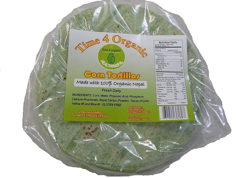 Amazon.com : 100% organic nopal Cactus Tortillas : Grocery & Gourmet Food