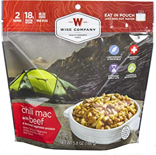 product image for Wise Foods Entree Dish Chili Mac with Beef (2 Servings)