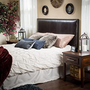 Christopher Knight Home 295302 Headboard, Cal King, Brown