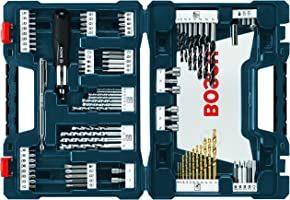 Bosch MS4091 Set V-Line con 91 piezas Titanio