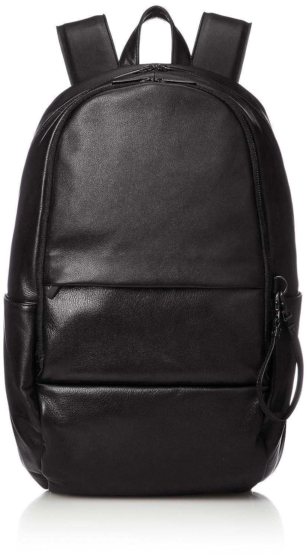 [パトリック ステファン] リュック Leather backpack 'round double F' バックパック/リュック 172ABG03 B0792T8V1Hブラック