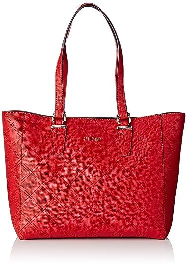 Damen Hwvn6778230 Shopper, Orange, 17.5x31x35 cm Guess