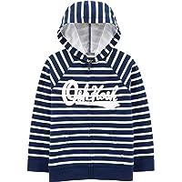 Osh Kosh Boys' Little Full Zip Logo Hoodie