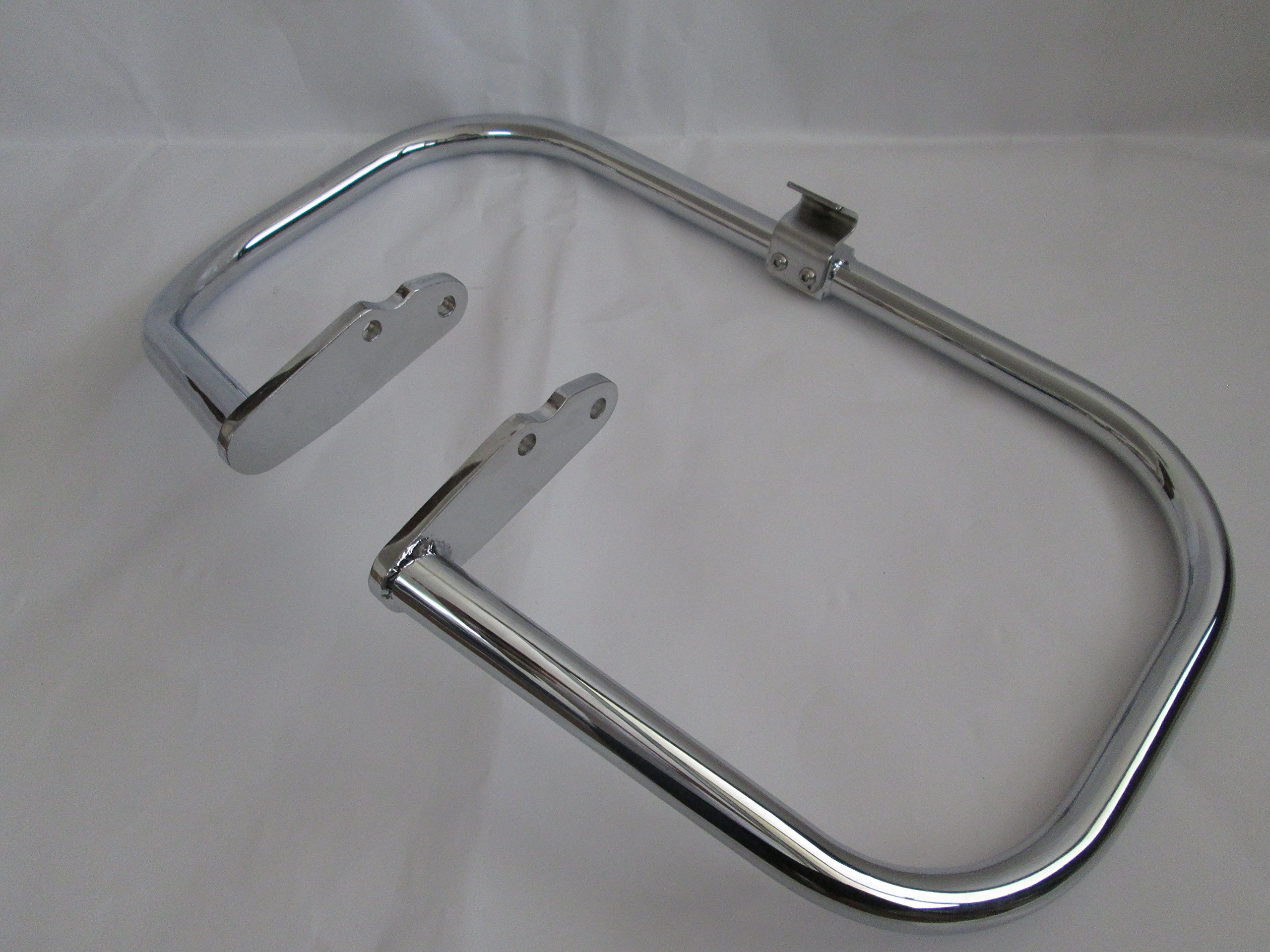 ENGINE GUARD HIGHWAY CRASH BAR YAMAHA ROADSTAR XV1600 XV1700 SILVERADO by USA (Image #3)