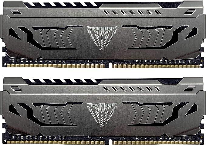 Amazon.com: Patriot Viper Steel Series DDR4 16GB (2 x 8GB) 4400MHz Performance Memory Kit - PVS416G440C9K: Computers & Accessories