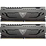 Patriot Viper Steel Series DDR4 16GB (2x8GB) 4400MHz PC4-35200 Dual Memory Kit - PVS416G440C9K