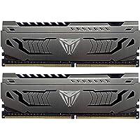 Patriot Viper Steel Series DDR4 16GB (2x8GB) 3600MHz PC4-28800 Dual Memory Kit - PVS416G360C8K