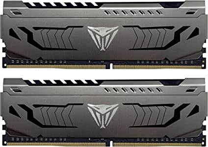 Patriot Viper Steel Series DDR4 16GB (2x8GB) 3000MHz PC4-24000 Dual Memory Kit - PVS416G300C6K