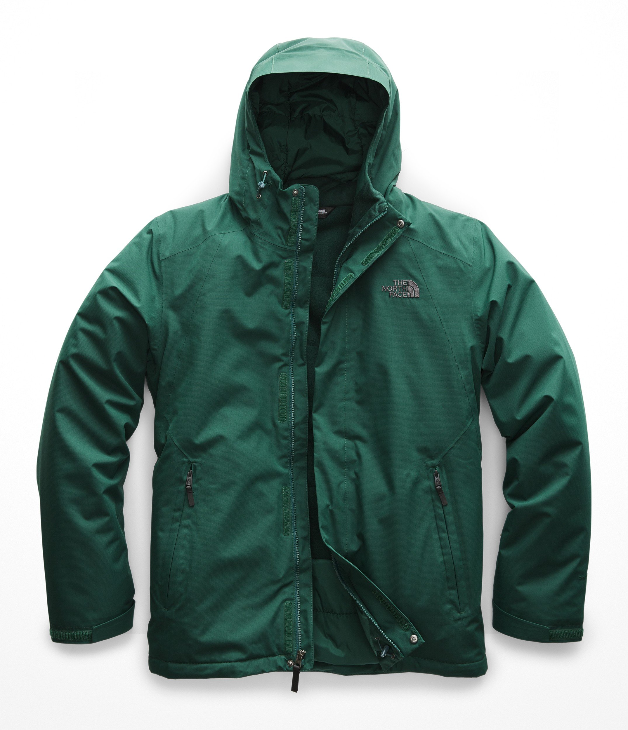The North Face Men's Inlux Insulated Jacket - Botanical Garden Green - L by The North Face