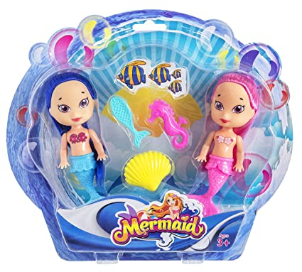 Amazon.es: JUINSA- Set 2 muñecas Sirenas+Accesorios (95727 ...