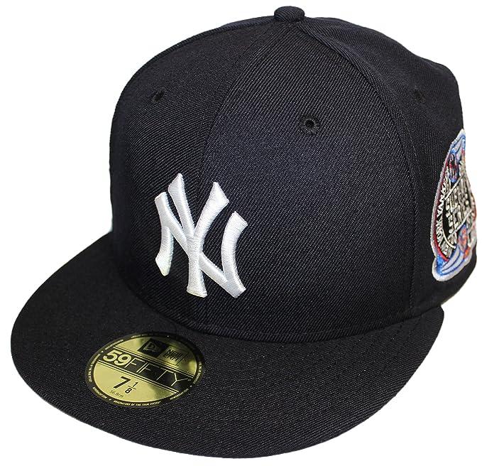 ec47c2cc8e0 Amazon.com  New Era 59Fifty NY Yankees Subway Series 2000 Side Patch Hat  Cap  Clothing