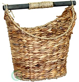Vintiquewise(TM) Rustic Toilet Paper Holder/Magazine Basket