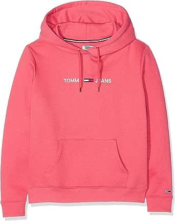 Tommy Hilfiger Tjw Clean Linear Logo Hoodie Chaqueta para Mujer