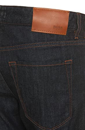 b78ab93a5 Amazon.com: Hugo Boss Maine 3 Regular Straight Jeans 40/32 Blue Men ...
