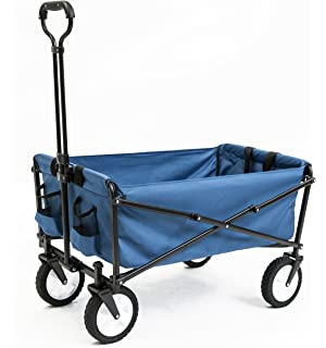 Amazoncom Topeakmart Folding Wagon Utility Garden Cart Beach