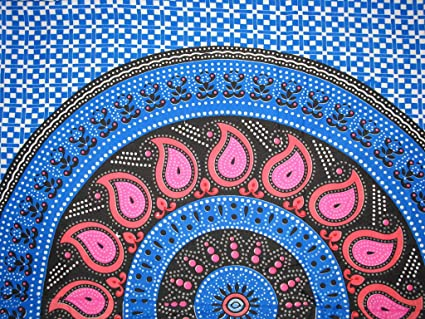 Blue Ocean Pareo Toalla, Material de Gran Calidad, Preciosos Diseños (Azul)