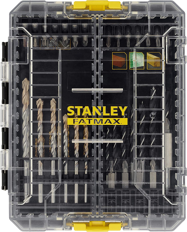 STANLEY STA88563-XJ Juego de Brocas y Puntas combinadas FATMAX de 49 Piezas