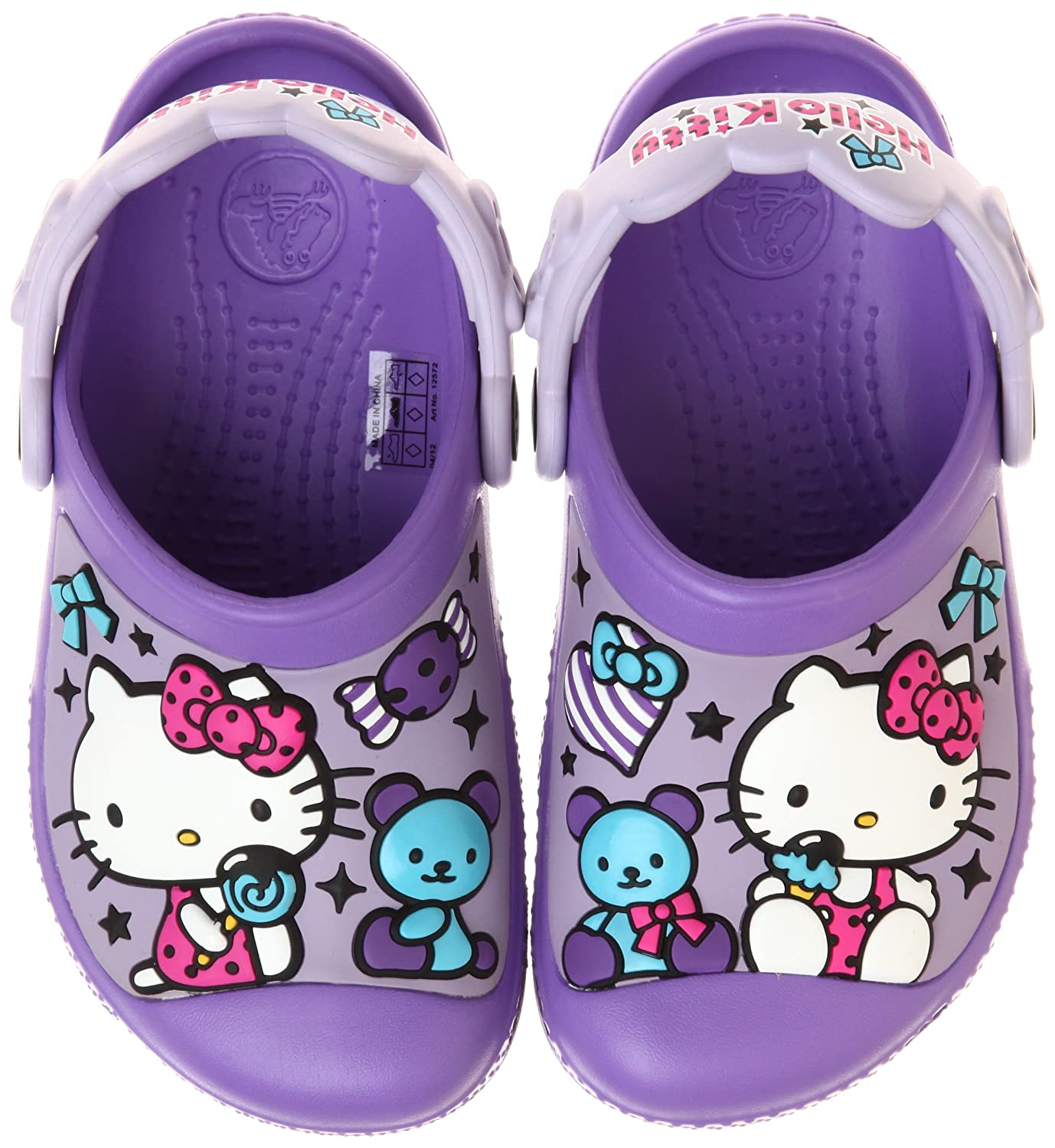 ce71488f36fa9a Crocs Kids Creative Hello Kitty Candy Ribbons Clog Mules And Sandal ...