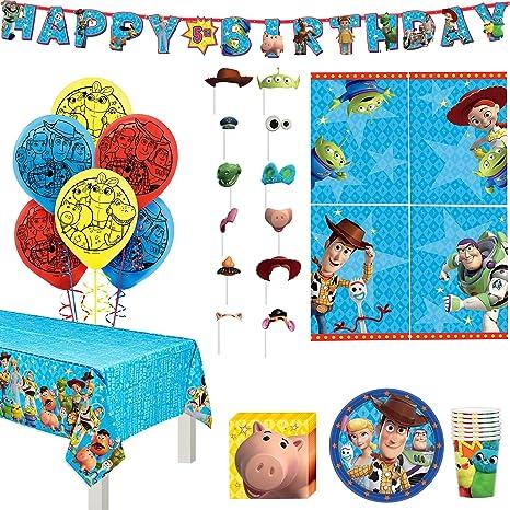 Toy Story Globos Remolinos Fondos Decoraciones Para Fiestas Cumpleaños De Niños