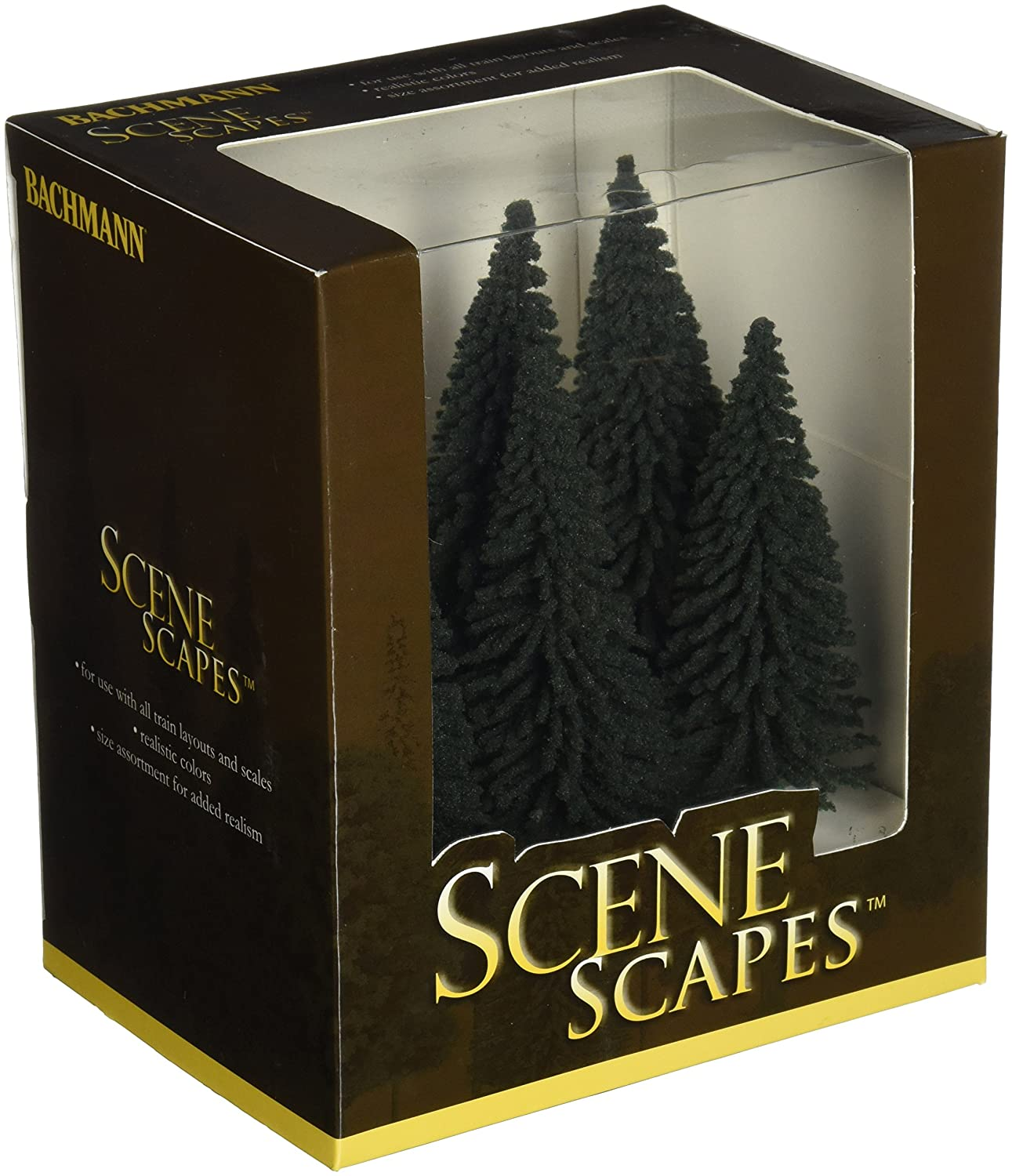 Bachmann Trains 5 6 Pine Trees 6 Per Box
