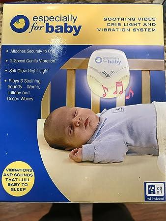 Amazon.com: Soothing Vibes Cuna Luz y Vibración sistema: Baby