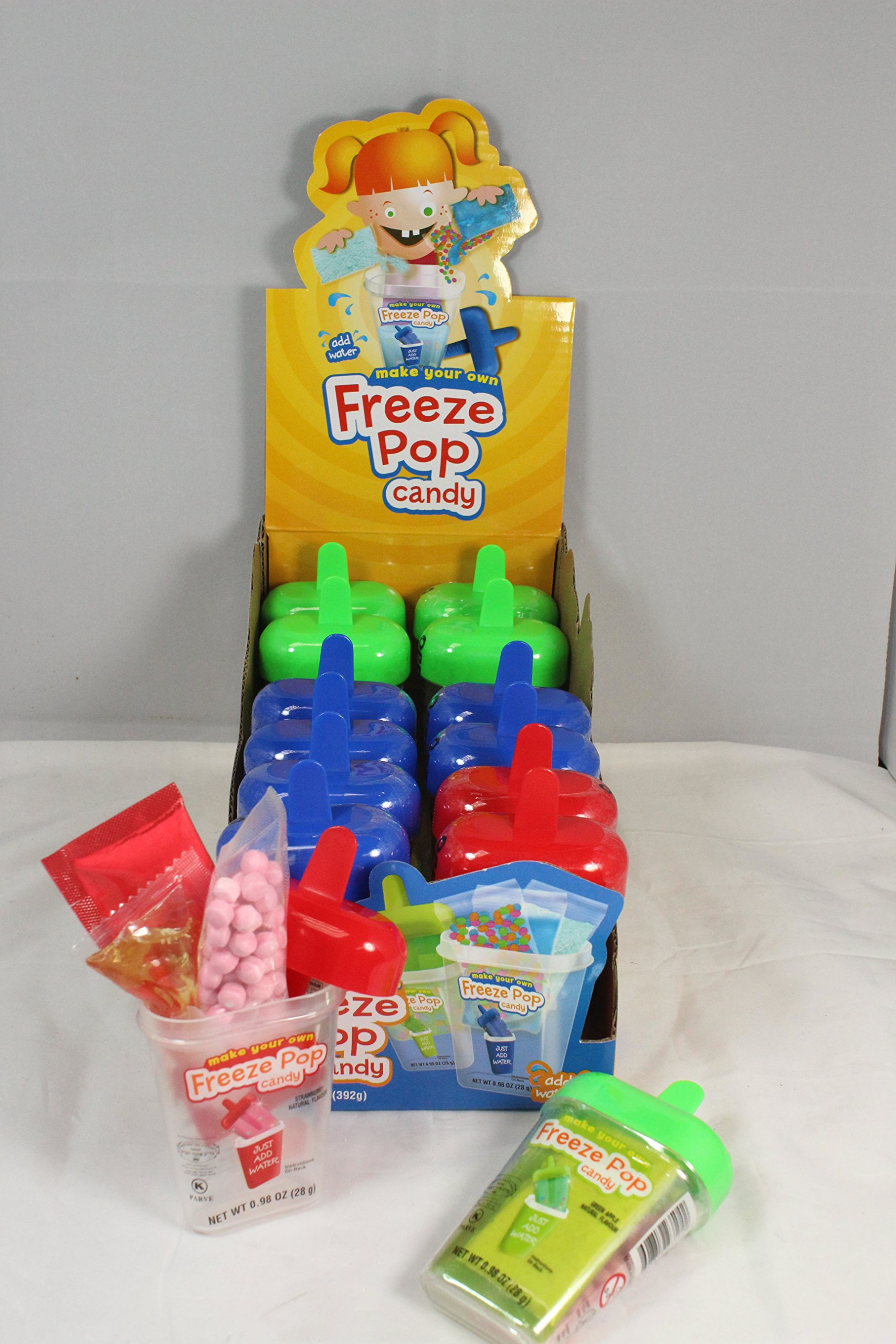 Freeze Pop candy, Certified Kosher. (Hapiness, usa) by 246 Foods