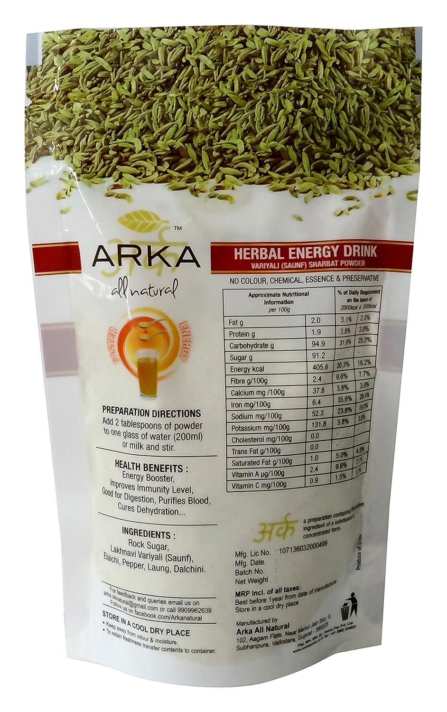 ARKA Herbal Energy Drink Powder, 600 Grams (Pack of 6)