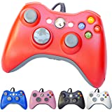 FiveStar USB Wired Game Pad Controller for Xbox 360, Windows 7 (X86), Windows 8 (X86) - Red