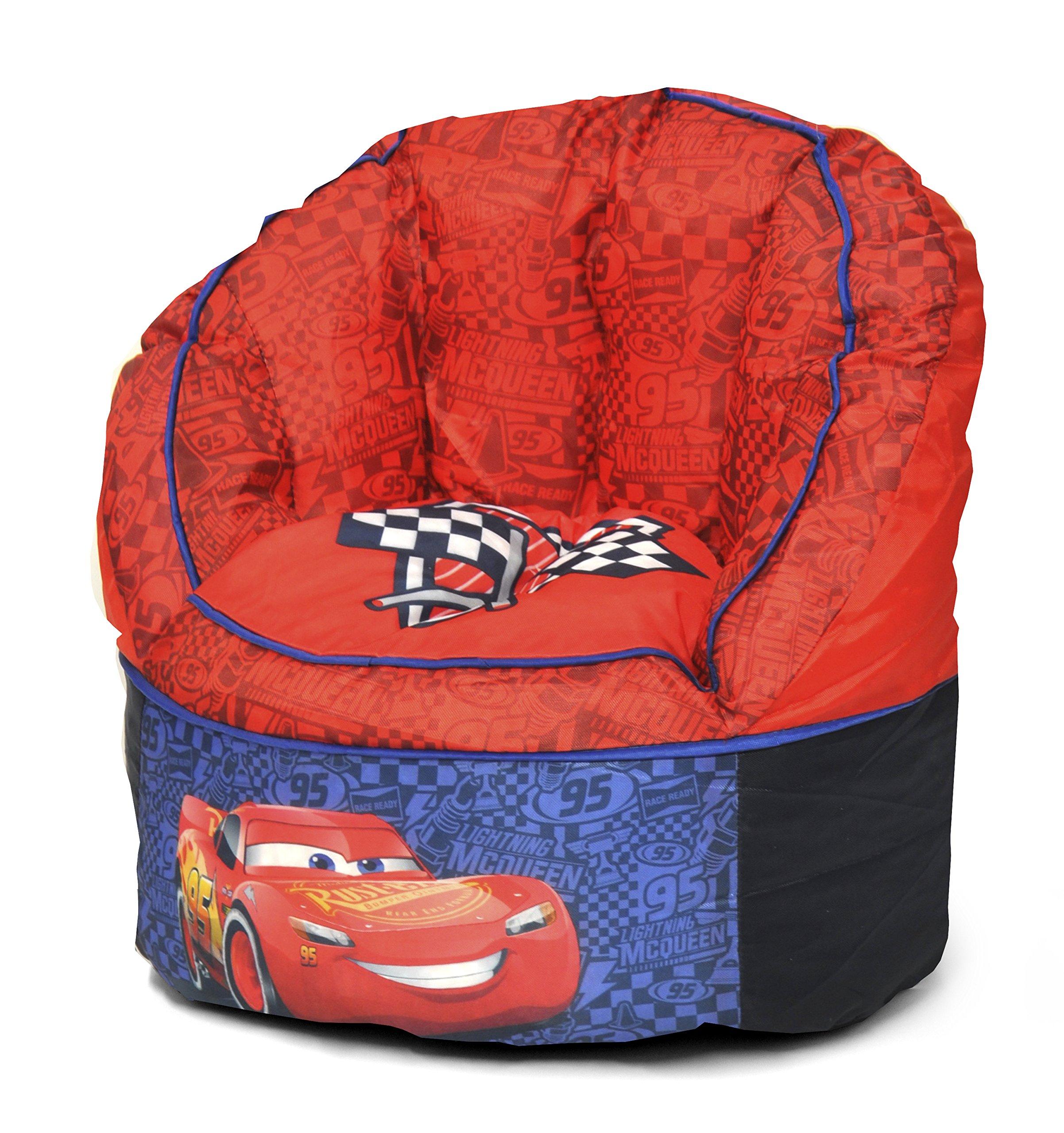 Disney Cars Toddler Bean Bag Chair, Red by Disney