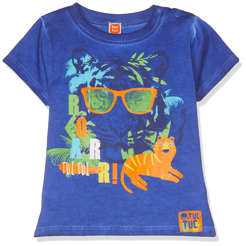 Tuc Tuc Camiseta Punto Media Estampada Ni/ño Manga Larga para Beb/és