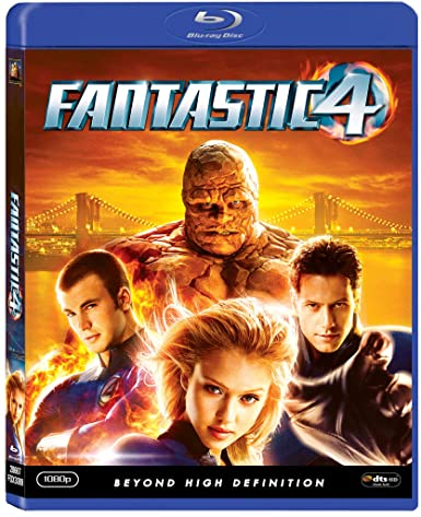 Fantastic Four (2005) BluRay 720p 1GB [Hindi 224kbps – English 384kbps] ESubs MKV