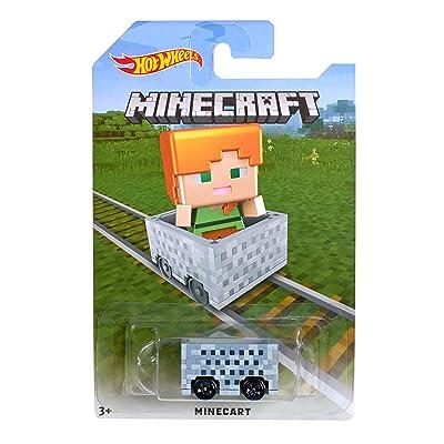 Hot Wheels Minecraft Alex Vehicle: Toys & Games