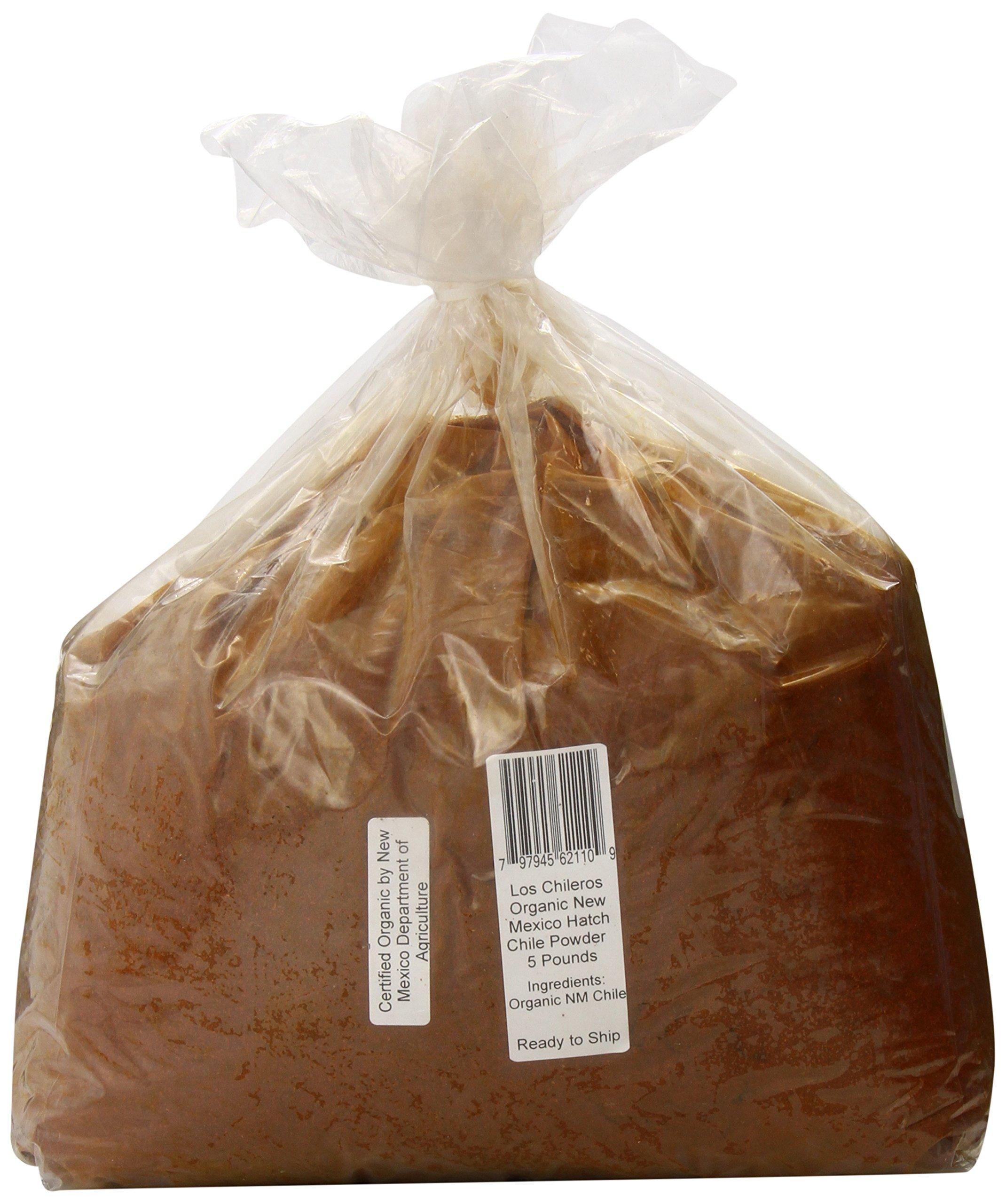 Los Chileros Organic New Mexico Hatch Chile, Powder, 5 Pound