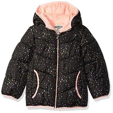 7704115e5621 Amazon.com  OshKosh B Gosh Baby Girls  Perfect Puffer Jacket  Clothing