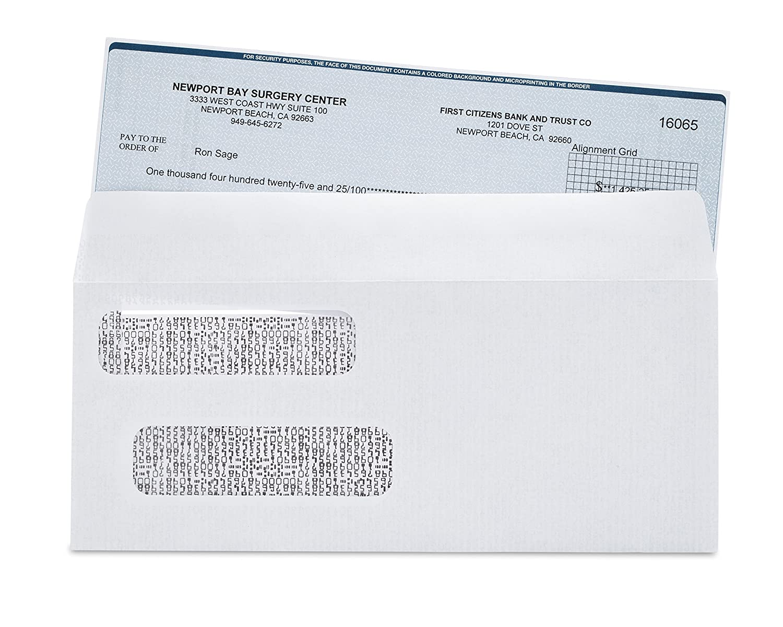 Merveilleux Amazon.com : Check Envelopes #8 Double Window Security Envelopes For  Quickbooks, Business U0026 Computer Checks (Double Window) : Office Products