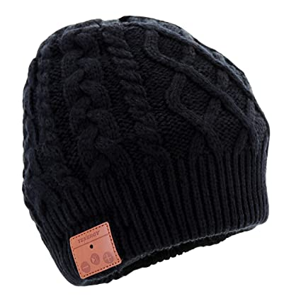 3cc4cd81c41 Tenergy Wireless Bluetooth Beanie Hat with Detachable Stereo Speakers    Microphone