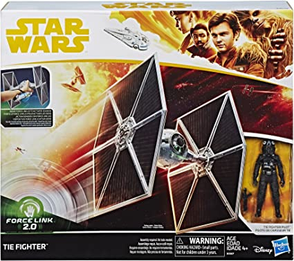 Star Wars New 2018 Force Link 2.0 TIE Fighter w// Pilot 3.75-inch from Solo Movie
