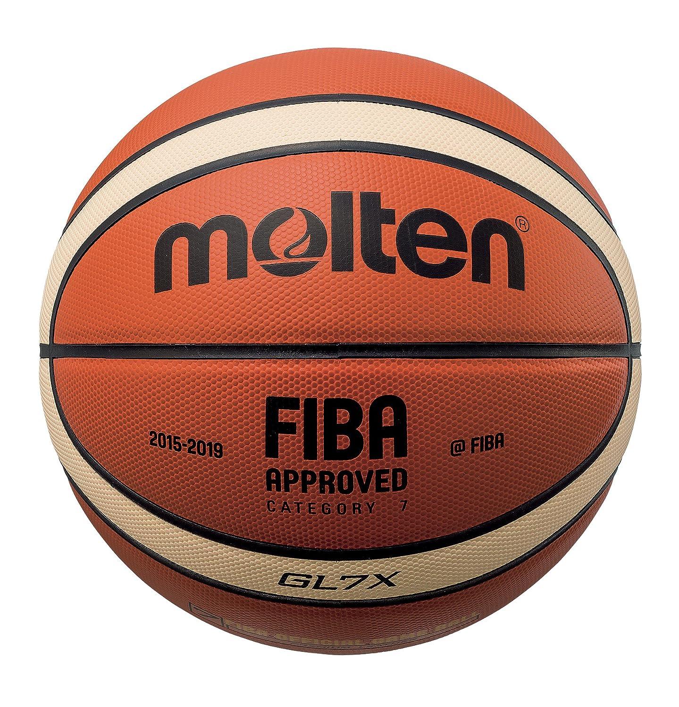 MOLTEN BGL Parallel Pebble - Pelota de Baloncesto, Color Naranja ...