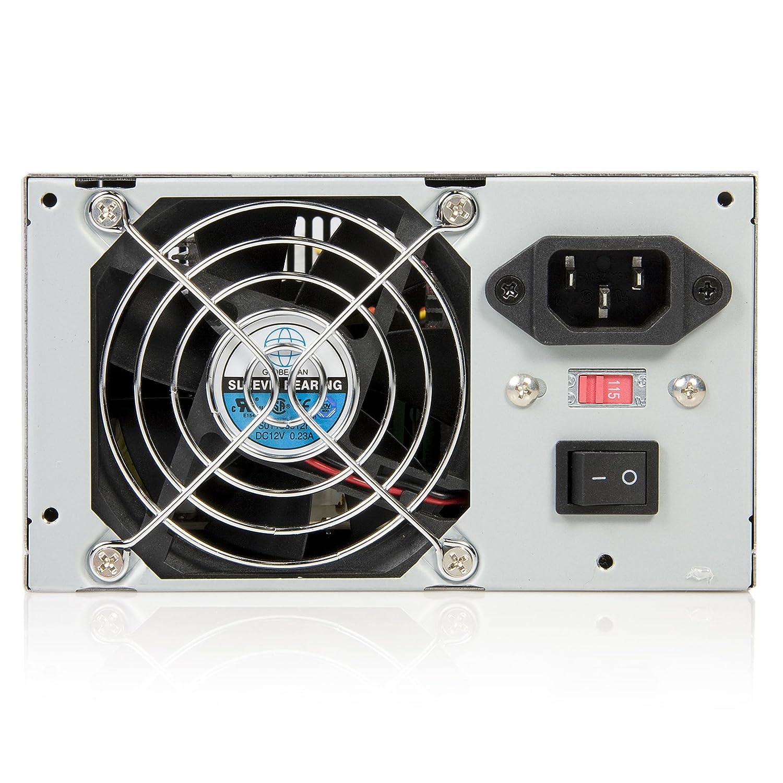 Amazon.com: StarTech.com 300 Watt ATX Replacement Computer PC Power ...