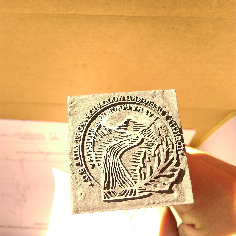 Amazon High Heat Stamp Custom Logo Branding Iron 1 Inch