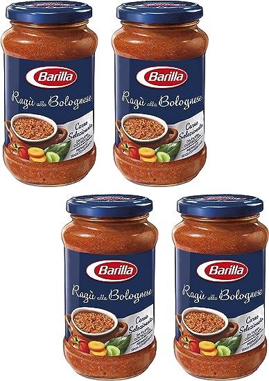 "Barilla: ""Bolognese"" Ragu Pasta Sauce 14.10 Ounce (400g) Bottles ("