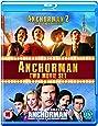 Anchorman 1-2 [Blu-ray] [Region Free]