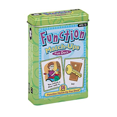 Super Duper Publications   Function Match-Ups Flash Cards   Identify and Describe Everyday Objects Fun Deck   Educational Learning Materials for Children: Toys & Games