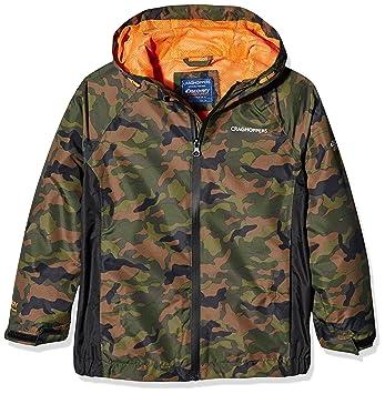 eef1c71c6 Craghoppers Kids Discovery Adventures Waterproof Jacket Waterproof Jacket -  Dark Moss Combo, 5-6