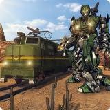 quad games for free - Robot Transform Train Simulator : Robot War Game