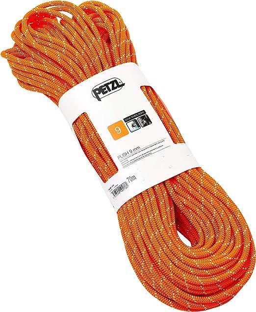 PETZL Push 9 Mm Cuerda, Adultos Unisex, Naranja, Uni ...