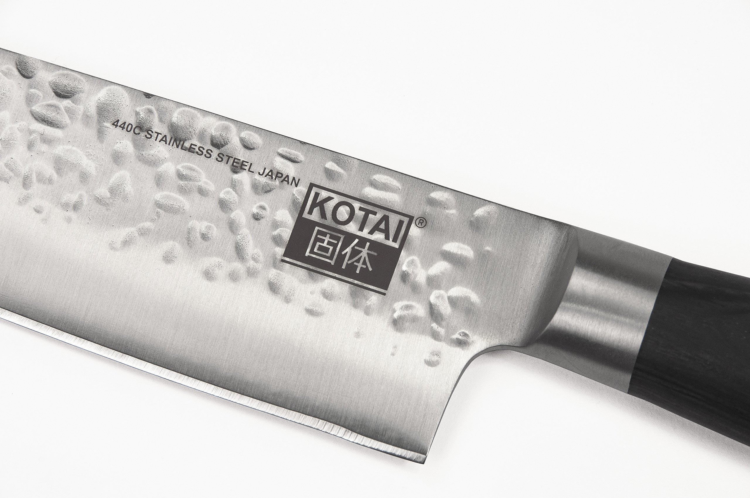 KOTAI Professional Chef Knife Gyuto - Japanese 440C High-Carbon Stainless Steel - Multipurpose Top Kitchen Knife for Home and Restaurant - Full Tang 8-inch Blade (20cm blade / 200mm blade)