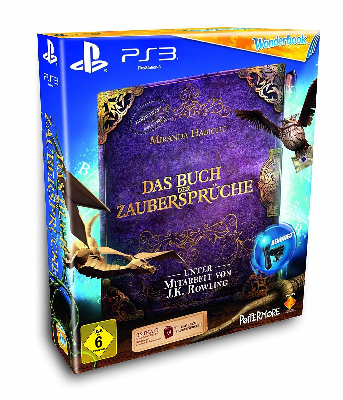 Wonderbook: Das Buch Der Zaubersprüche (Move Erforderlich)   [PlayStation  3]: Amazon.de: Games
