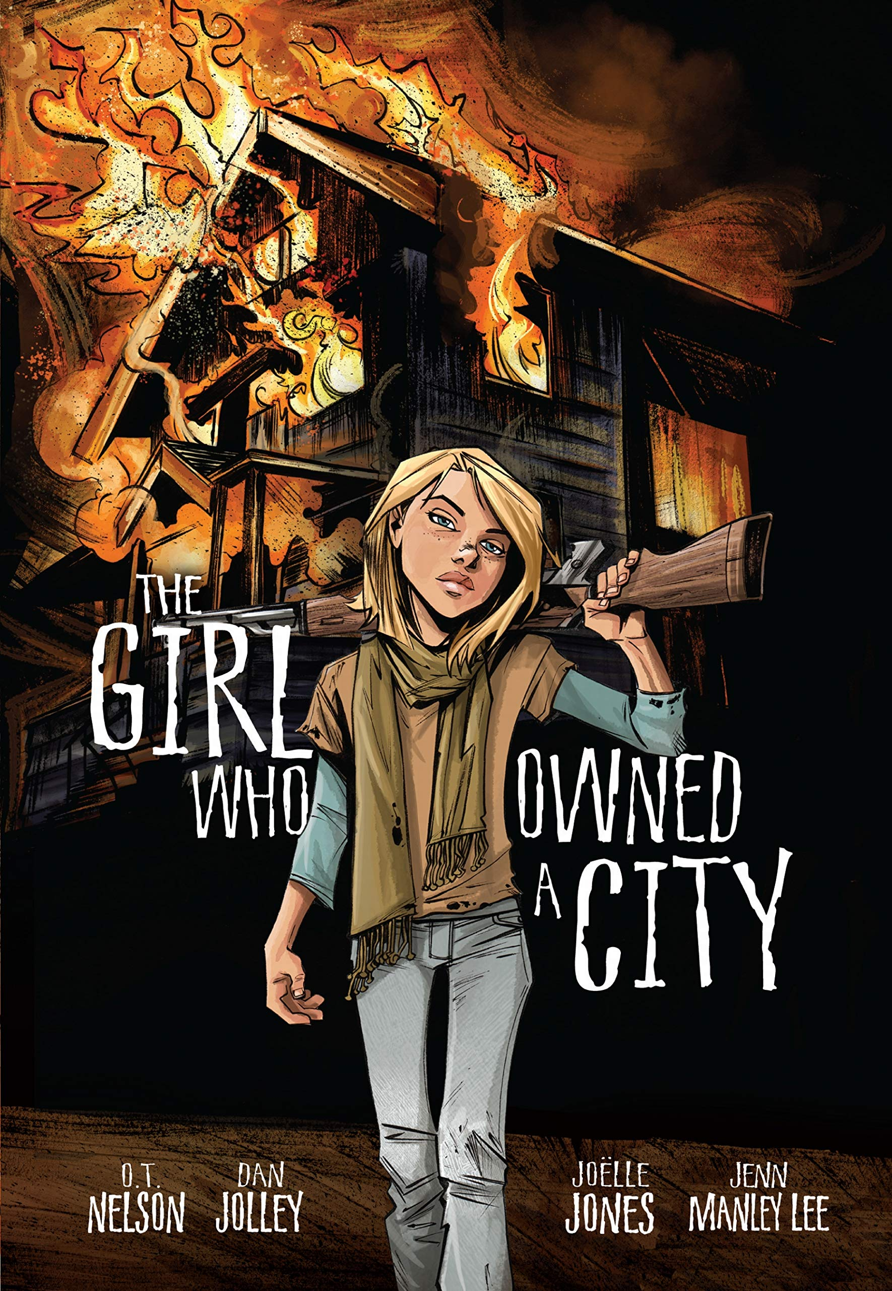 Image result for the girl who owned a city comic